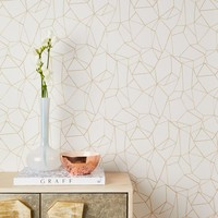 CHASING PAPER GEO PRISMS WALLPAPER