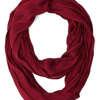 Brighten Up Circle Scarf in Plum