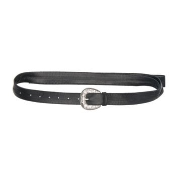 Magda Butrym Long 66 Belt in Black | FWRD