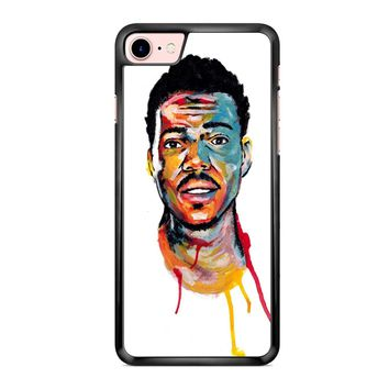 Acrylic Painting Of Chance The Rapper iPhone 7 Case