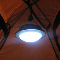 Hot Sale 60 LEDs Outdoor Camping Lamp with Lampshade Circle Tent Light Campsite Hanging Lamp