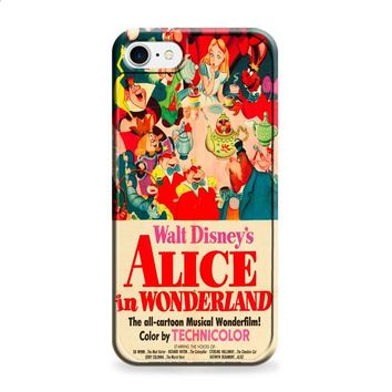 Old Disney Posters Alice In Wonderland iPhone 6 | iPhone 6S case