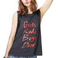 Nasty Gal Girls Rule Tank