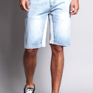 Men's Double Taped Track Style Shorts DS2039 - O5D