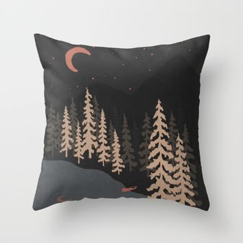 I've Been Here Before... Throw Pillow by NDTank