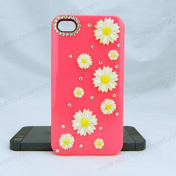 Sun flowers  bling iphone 6 case iphone 6 case iphone 5c iphone 4 case samsung galaxy s4 case note3 s3 case iphone 5s case bling crystal