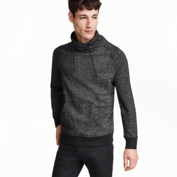 Funnel-collar Sweatshirt - from H&M