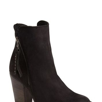 Women's Steve Madden 'Ryat' Leather Ankle Bootie,