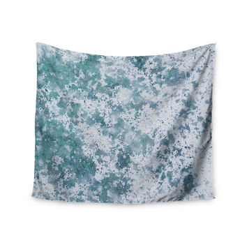 "Will Wild ""Frost"" Blue Nature Wall Tapestry"