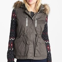 Circus by Sam Edelman Knit Sleeve Anorak | Nordstrom