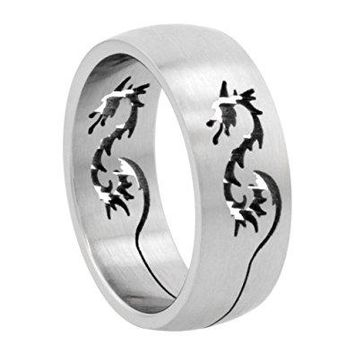 Stainless Steel Laser Cut Rings