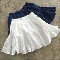 Lolita Ruffle Mini Skirt
