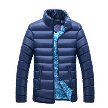 2017 Winter Ultra Light Casual Parkas Stand Collar Coat Male Warm Fashion White Duck Down Jacket Men