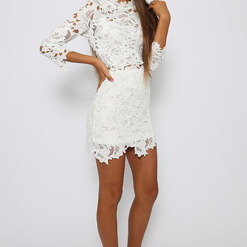 Beliza Dress - White