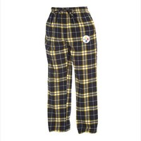 Pittsburgh Steelers Huddle Men's Flannel Pants