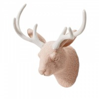 Jackalope Watusi Peach Wall Hook