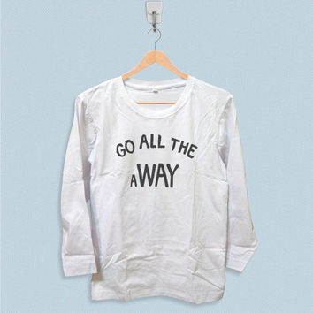Long Sleeve T-shirt - Go All The Away Luke Hemmings 5SOS