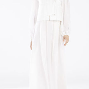 White BCBG Runway Christoff Jacket