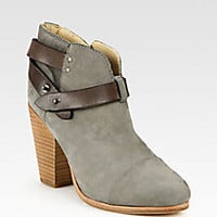 Rag & Bone - Harrow Suede & Leather Ankle Boots - Saks Fifth Avenue Mobile