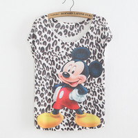 dot mouse women t shirt new style fashion tees low price good quality T-shirts come on !