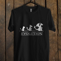 Pokemon Evolution  Mens T Shirt and Womens T Shirt **