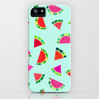 Watermelons Print iPhone & iPod Case by House Of Jennifer