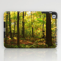 Maple Forest (Painterly Style) iPad Case by Lyle Hatch