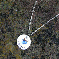 Tangled Name Necklace