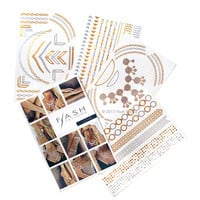 Flash Tattoos Lena Temporary Tattoos Metal One Size For Women 27069109201