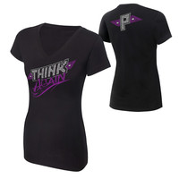 "Paige ""Think Again"" Women's V-Neck T-Shirt"