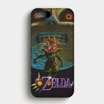 The Legends Of Zelda Majora Mask Oni 1 iPhone SE Case