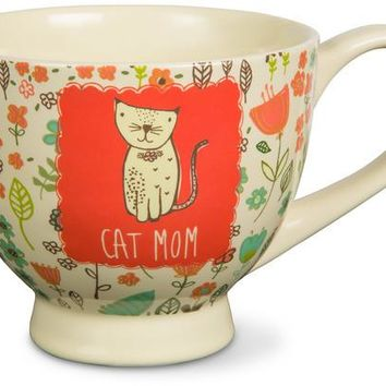 Cat Mom Soup Bowl Mug