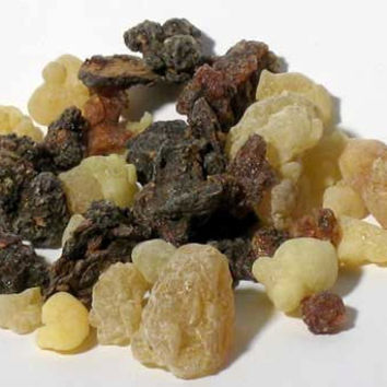 Frankincense & Myrrh Granular incense Mix 1 oz great for Soaping, Crafting, Incense