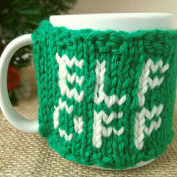 Elf Off Coffee Mug Warmer – Funny Christmas Gift for Coworker – Secret Santa Gift – Stocking Stuffer for Dad – Coffee Warmer- Christmas Cozy