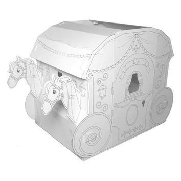 Childrens Coloring Playhouse - Princess Carriage