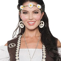 70s Headband-choker Halloween Costume