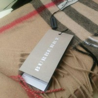 Authentic Cashmere Burberry Scarf