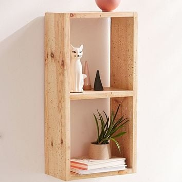 Splattered Wood Shelf | Urban Outfitters