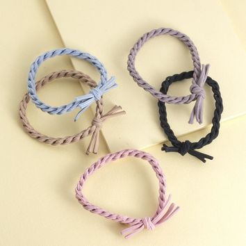Braided Rope Hair Ties