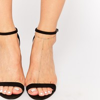 ASOS Fine Bar Chain Foot Harness
