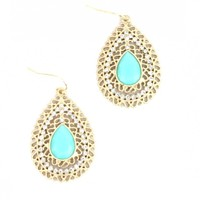 Lace and Crystal Earrings - Buy From ShopDesignSpark.com