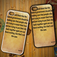 Sam Smith Quotes X1585 LG G2 G3, Nexus 4 5, Xperia Z2, iPhone 4S 5S 5C 6 6 Plus, iPod 4 5 Case