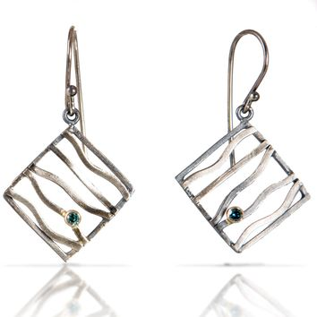 ALL NEW Beauty and the Beach Wave Earrings