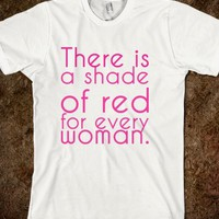 There is a shade of red for every woman.