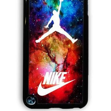 IPod 5 Case - Hard (PC) Cover with air jordan nike nebula Plastic Case Design