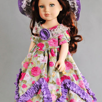 45cm American Girl doll and our generation doll Princess Anne Alexander Smart's play