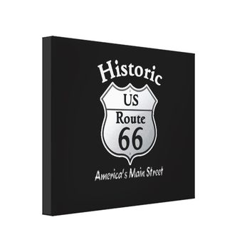 Historic Route 66 -- Canvas Art Print