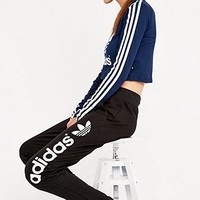 adidas Light Logo Joggers - Urban Outfitters