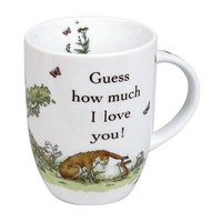 Konitz ''Guess How Much I Love You'' 4-pc. Mug Set (White)