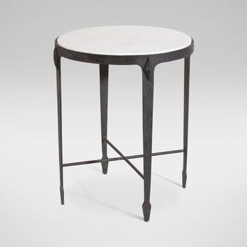 Jaca Marble Top Accent Table